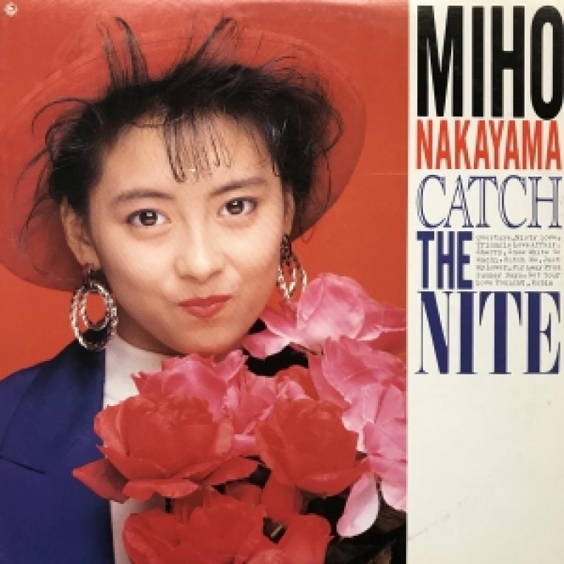 中山美穂/CATCH THE NIGHTのLPレコード通販・販売ならサウンドファインダー