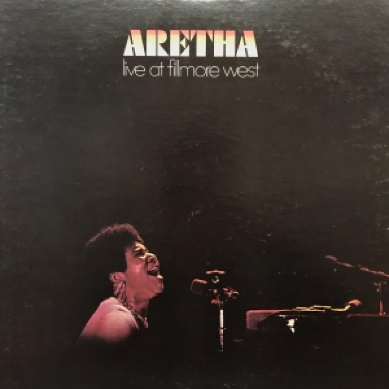 ARETHA FRANKLIN/LIVE AT FILLMORE WESTのLPレコード通販・販売ならサウンドファインダー
