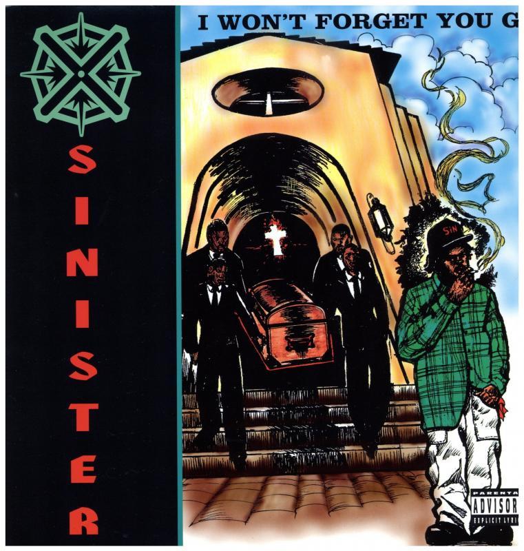SINISTER/I WON'T FORGET YOU G / Bank Heistの12インチレコード通販・販売ならサウンドファインダー