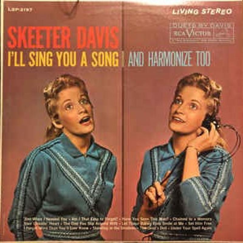 Skeeter Davis/I'll Sing You a SongのLPレコード通販・販売ならサウンドファインダー