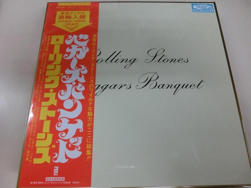 The Rolling Stones/Beggars BanquetのLPレコード通販・販売ならサウンドファインダー