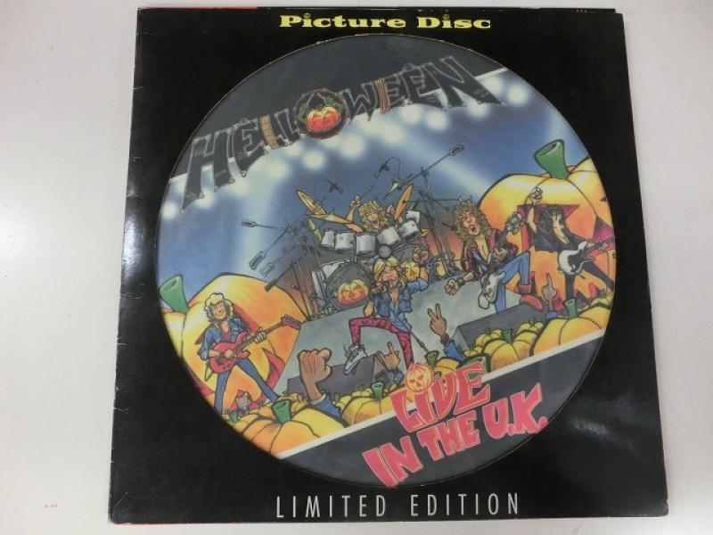 Helloween/Live In The U.K.のLPレコード通販・販売ならサウンドファインダー