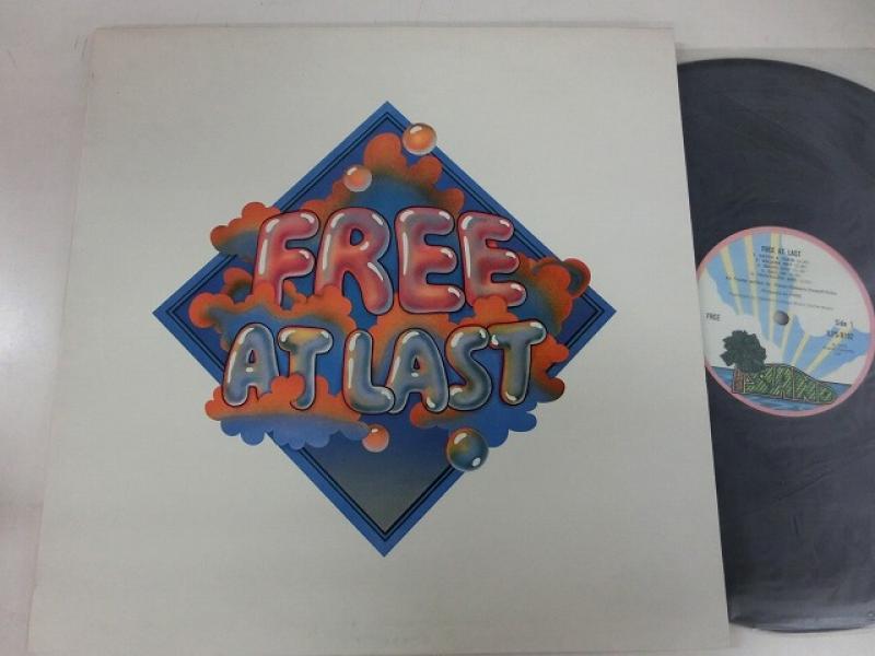 Free/Free At Last (pink rim)のLPレコード通販・販売ならサウンドファインダー