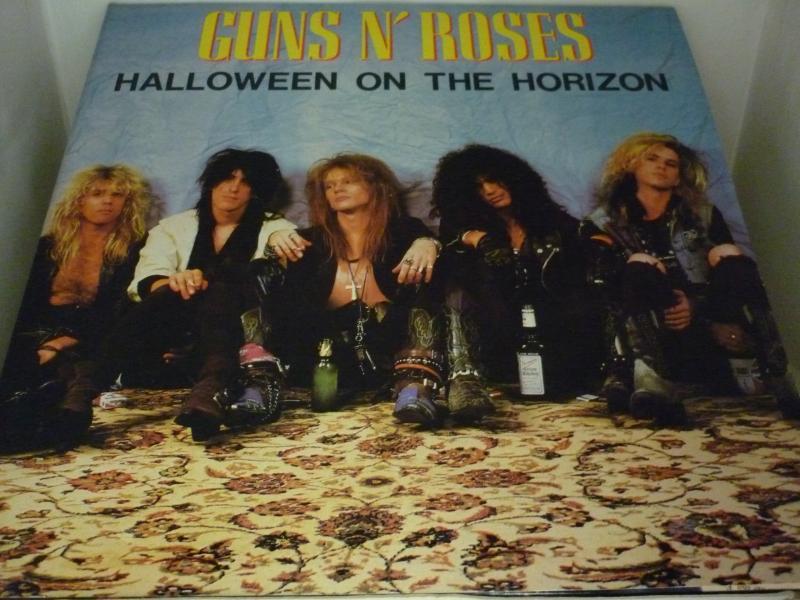 GUNS N' ROSES/HALLOWEEN ON THE HORIZONのLPレコード通販・販売ならサウンドファインダー