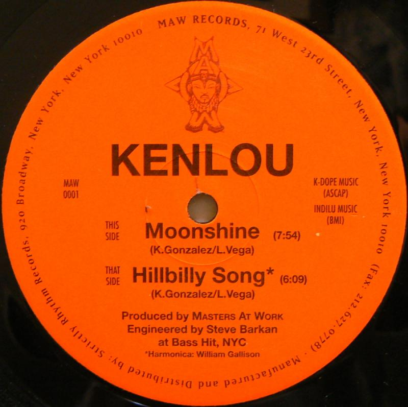 「KENLOU / MOONSHINE」の画像検索結果