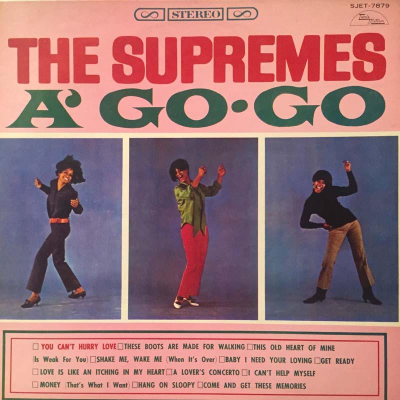 シュープリームス/シュープリームス・ア・ゴー・ゴーのLPレコード通販・販売ならサウンドファインダー