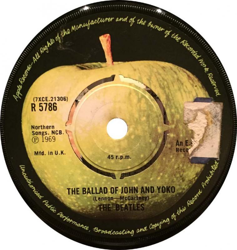 The Beatles /The Ballad Of John And Yokoのシングル盤通販・販売ならサウンドファインダー