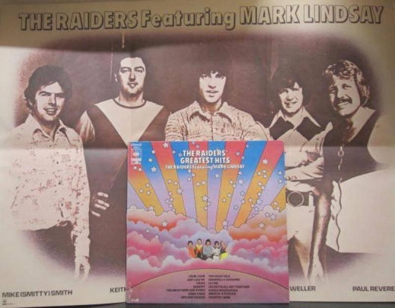 マーク・リンゼイとレイダース/レイダース・グレーテスト・ヒット(ポスター付き)のLPレコード通販・販売ならサウンドファインダー