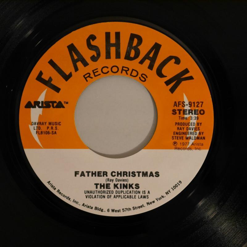 THE KINKS/Father Christmas レコード通販のサウンドファインダー