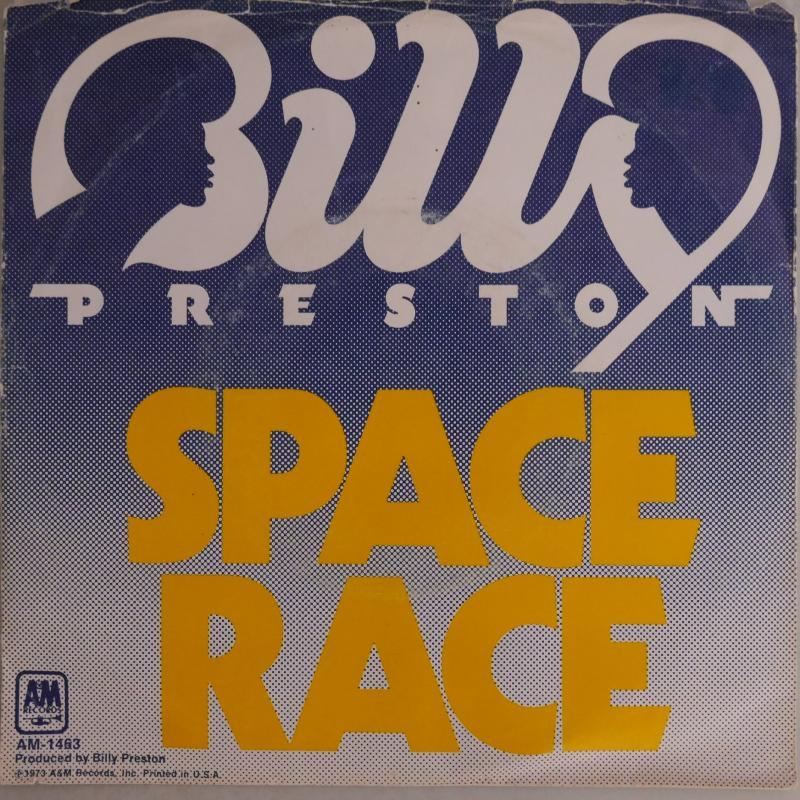 BILLY PRESTON/Space Race c/w We're Gonna Make It レコード