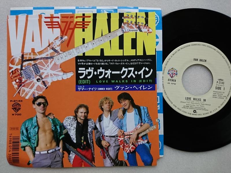 ヴァン・ヘイレン/ラヴ・ウォークス・インのシングル盤通販・販売ならサウンドファインダー