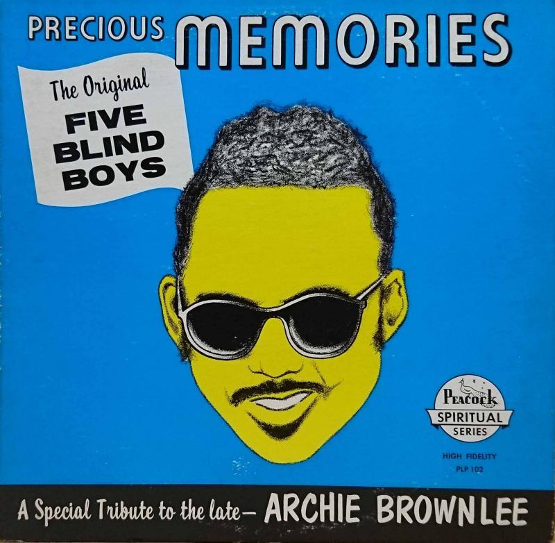 THE ORIGINAL FIVE BLIND BOYS OF MISSISSIPPI/Precious MemoriesのLPレコード通販・販売ならサウンドファインダー