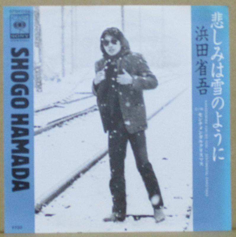浜田省吾/悲しみは雪のようにのシングル盤通販・販売ならサウンドファインダー
