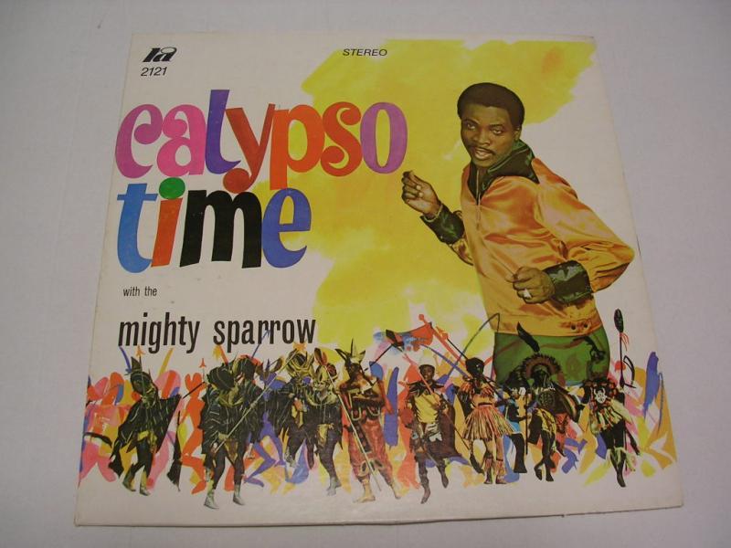 MIGHTY SPARROW - CALYPSO TIME - 33T