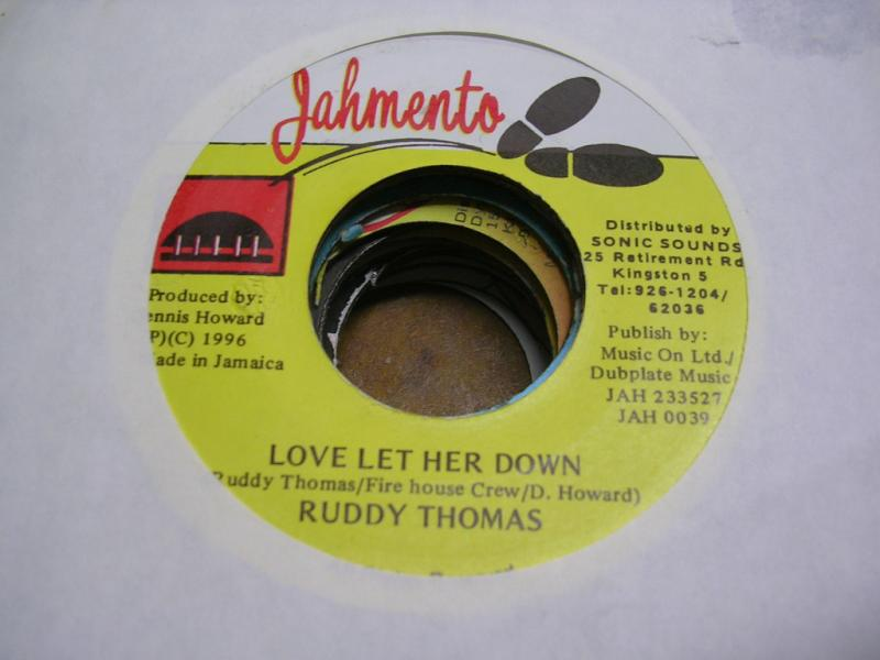 Ruddy Thomas Love Let Her Down