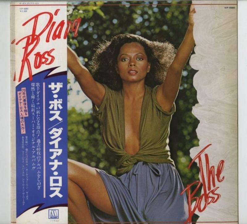 DIANA ROSS ダイアナ・ロス - Boss ザ・ボス - LP