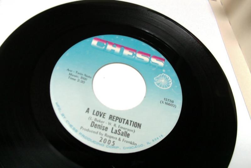 denise lasalle/a love reputation/one little thingのシングル盤 vinyl 7inch通販・販売ならサウンドファインダー