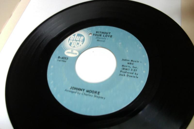 johnny moore/without your love/such a wonderful feelingのシングル盤 vinyl 7inch通販・販売ならサウンドファインダー