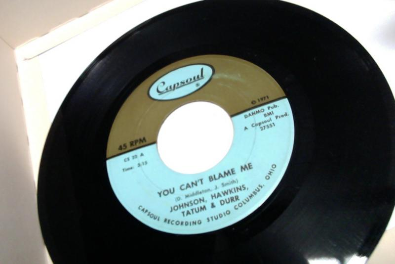 johnson,hawkins,tatum & durr/you can't blame me/your love keeps drawing me closerのシングル盤 vinyl 7inch通販・販売ならサウンドファインダー