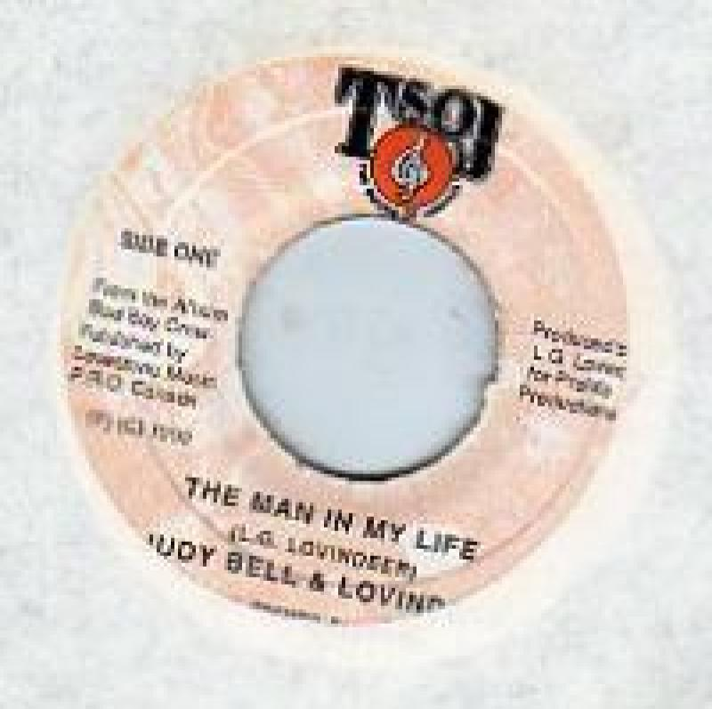JUDY BELL & LOVINDEER - THE MAN IN MY LIFE - 7inch x 1