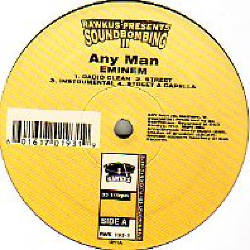 EMINEM - ANY MAN - 12 inch 45 rpm