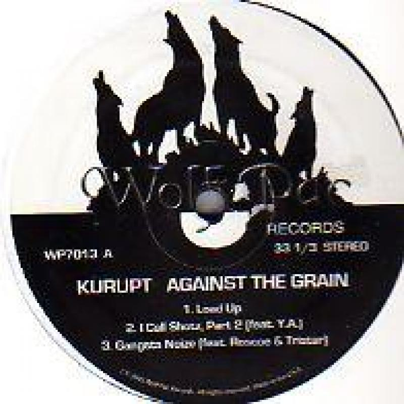 KURUPT - AGAINST THE GRAIN - ALBUM SAMPLER - 12 inch 45 rpm