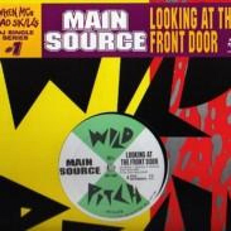 MAIN SOURCE - LOOKING AT THE FRONT DOOR - 12 inch 45 rpm