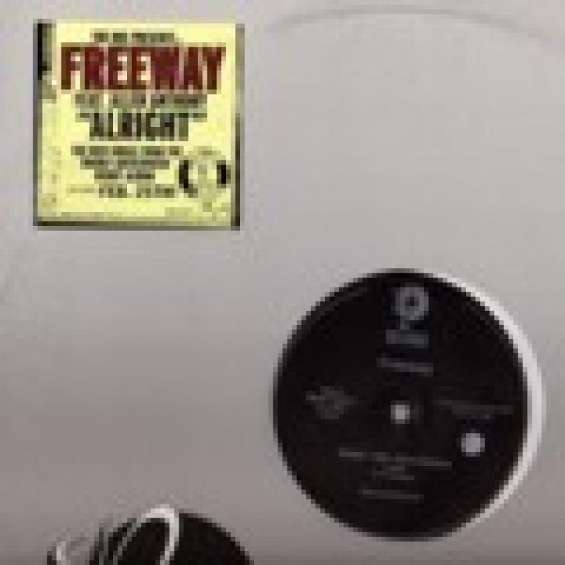 FREEWAY FEAT. ALLEN ANTHONY - ALRIGHT - 12''45回転