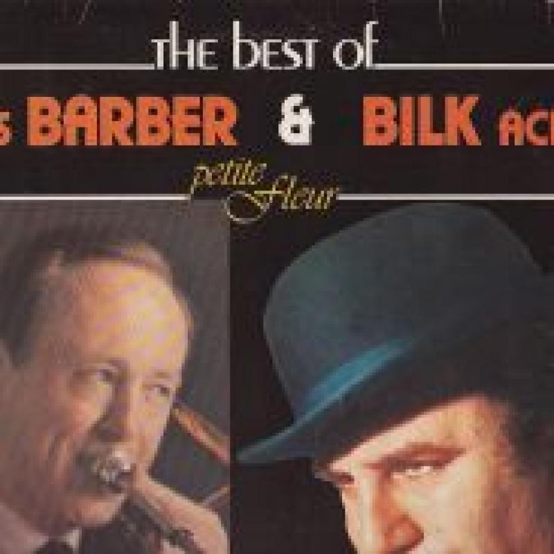 CHRIS BARBER & BILK ACKER - PETITE FLEUR - 33T