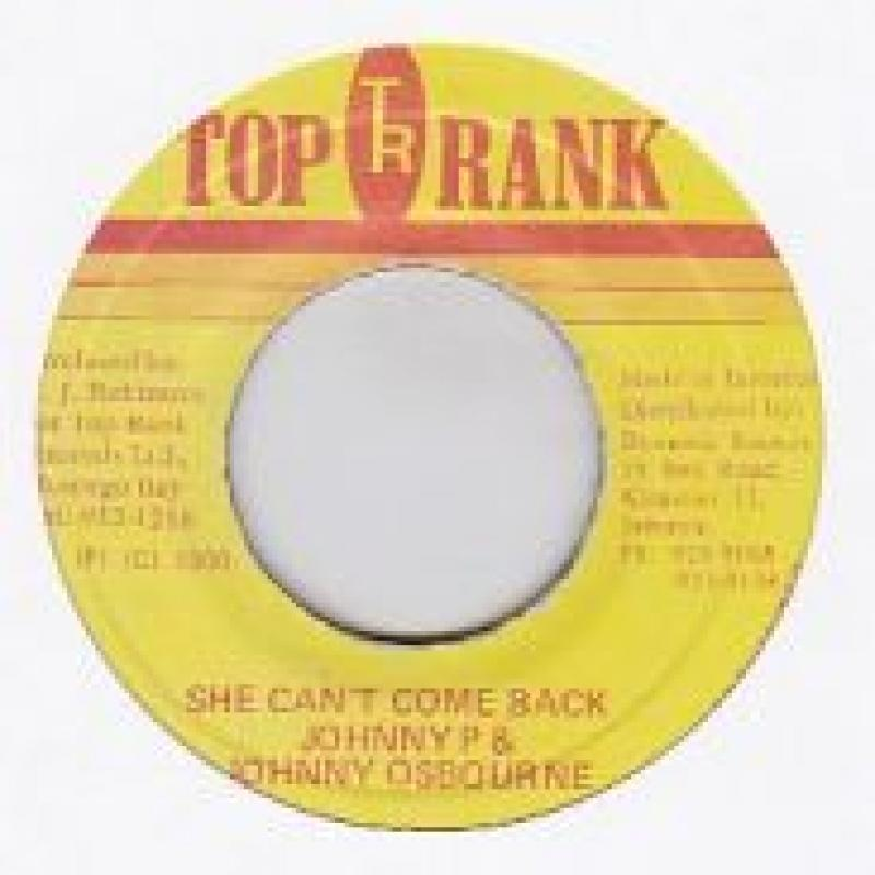 JOHNNY P & JOHNNY OSBOURNE/SHE CAN'T COME BACK レコード通販のサウンド ...