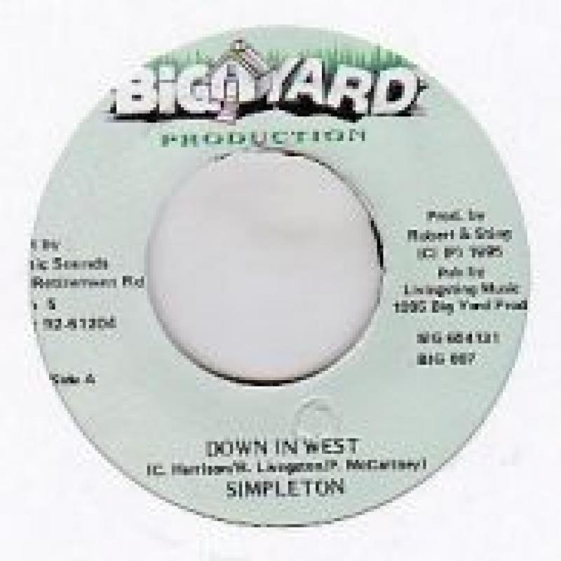 SIMPLETON/DOWN