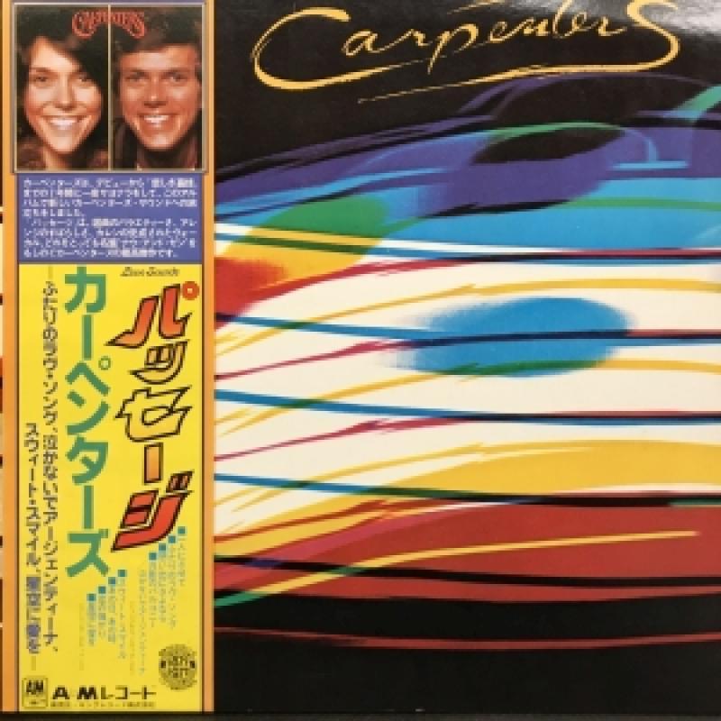 """カーペンターズ/PASSAGEのLPレコード通販・販売ならサウンドファインダー"""""""