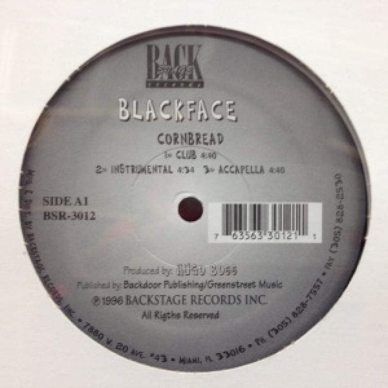 "BLACKFACE/CORNBREADの12インチレコード通販・販売ならサウンドファインダー"""