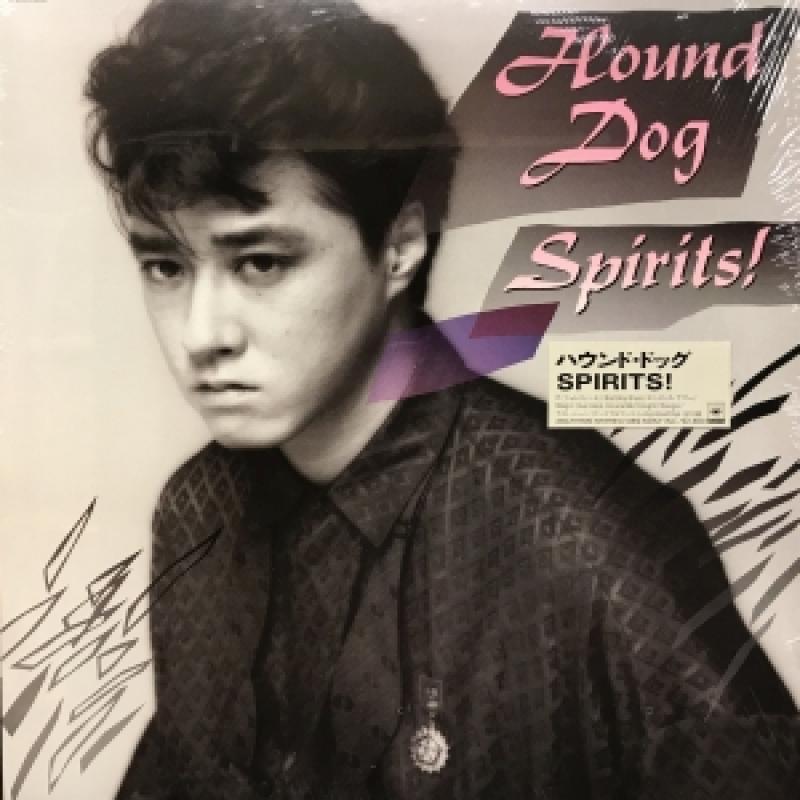"""ハウンド・ドッグ/SPIRITS!のLPレコード通販・販売ならサウンドファインダー"""""""
