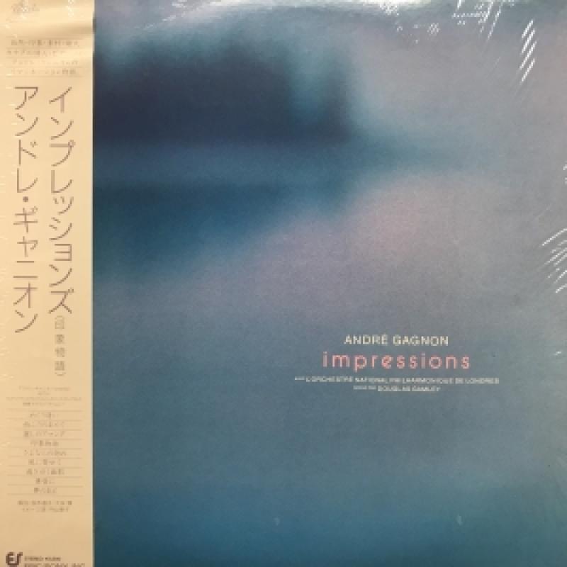 """アンドレ・ギャニオン/IMPRESSIONSのLPレコード通販・販売ならサウンドファインダー"""""""