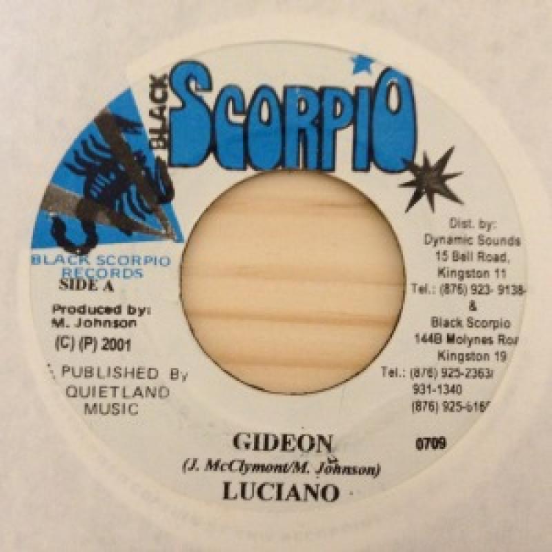 """LUCIANO/GIDEONの7インチレコード通販・販売ならサウンドファインダー"""""""