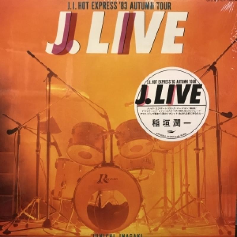 """稲垣潤一/J.LIVEのLPレコード通販・販売ならサウンドファインダー"""""""