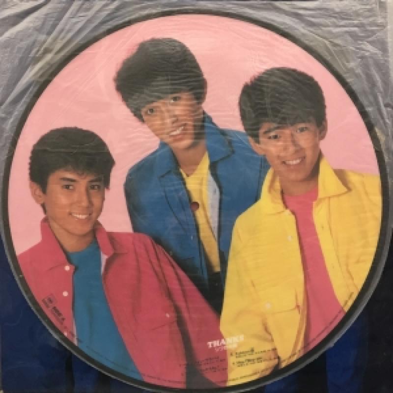 """シブがき隊/THANKSのLPレコード通販・販売ならサウンドファインダー"""""""