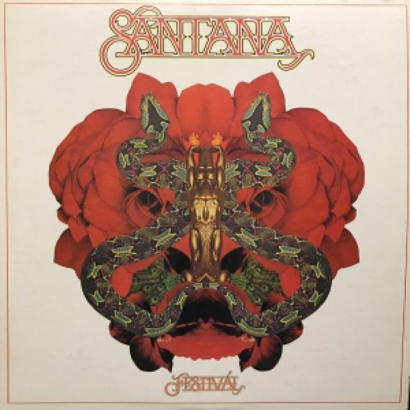 "SANTANA/FESTIVALのLPレコード通販・販売ならサウンドファインダー"""