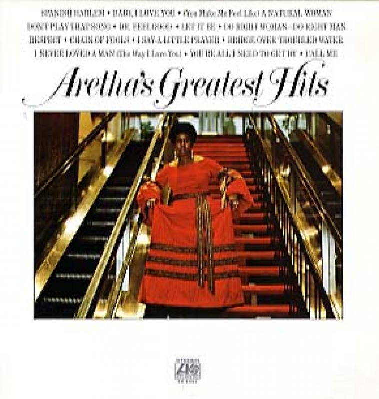 ARETHA FRANKLIN - ARETHA'S GREATEST HITS - LP