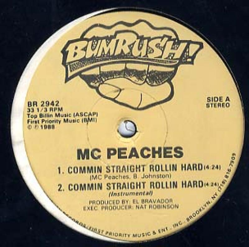 MC Peaches - Commin Straight Rollin Hard