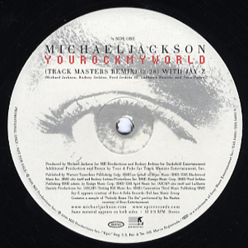MICHAEL JACKSON feat Jay-Z/YOU ROCK MY WORLD-REMIX レコード通販の ...