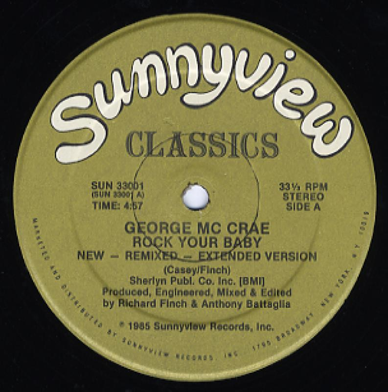 GEORGE MCCRAE - ROCK YOUR BABY-NEW REMIX - Maxi 45T