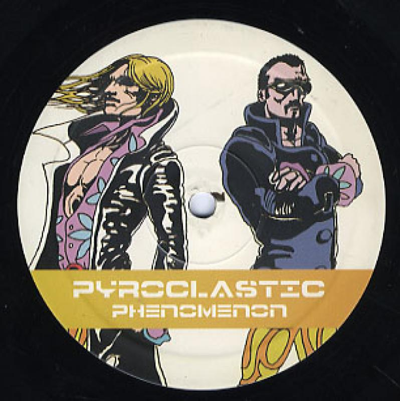 """PYROCLASTIC/PHENOMENONの12インチレコード通販・販売ならサウンドファインダー"""""""