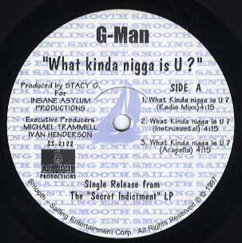 G-MAN/WHAT