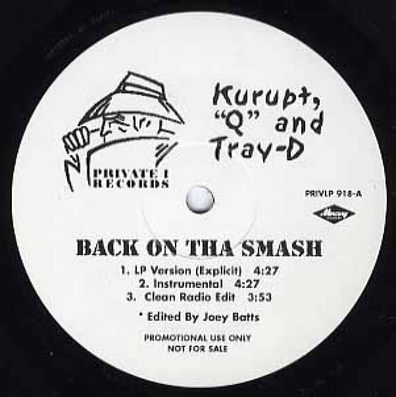 KURUPT / DAZ DILLINGER BACK ON THA SMASH / HERE WE GO NOW