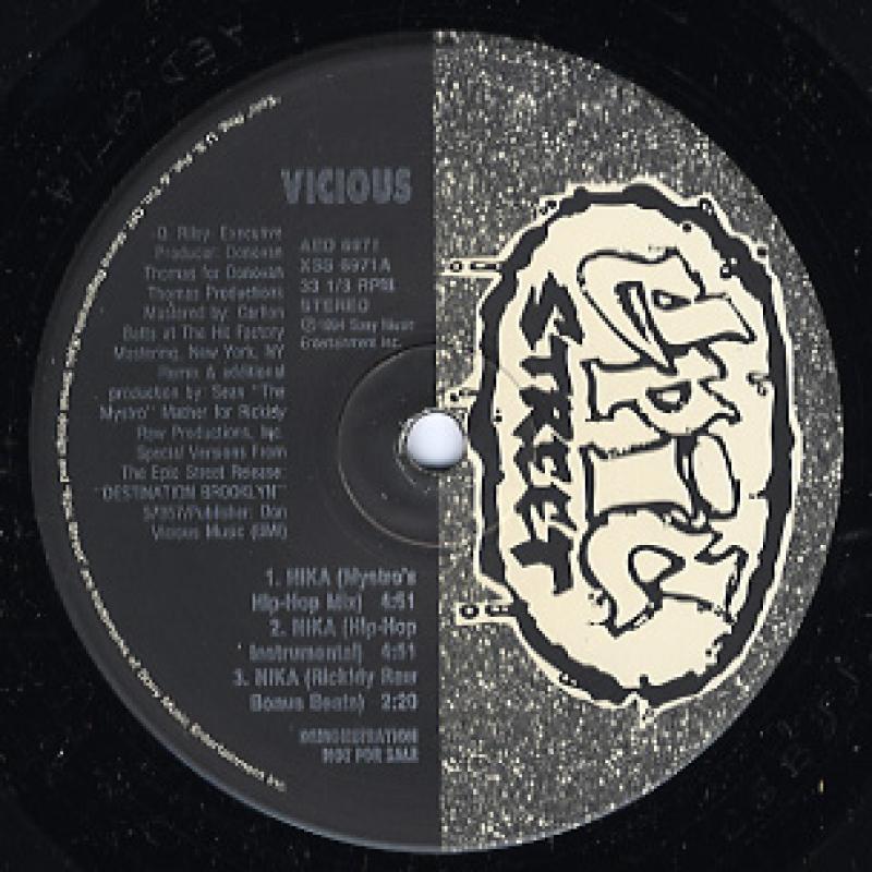 """VICIOUS/NIKA-REMIXの12インチレコード通販・販売ならサウンドファインダー"""""""