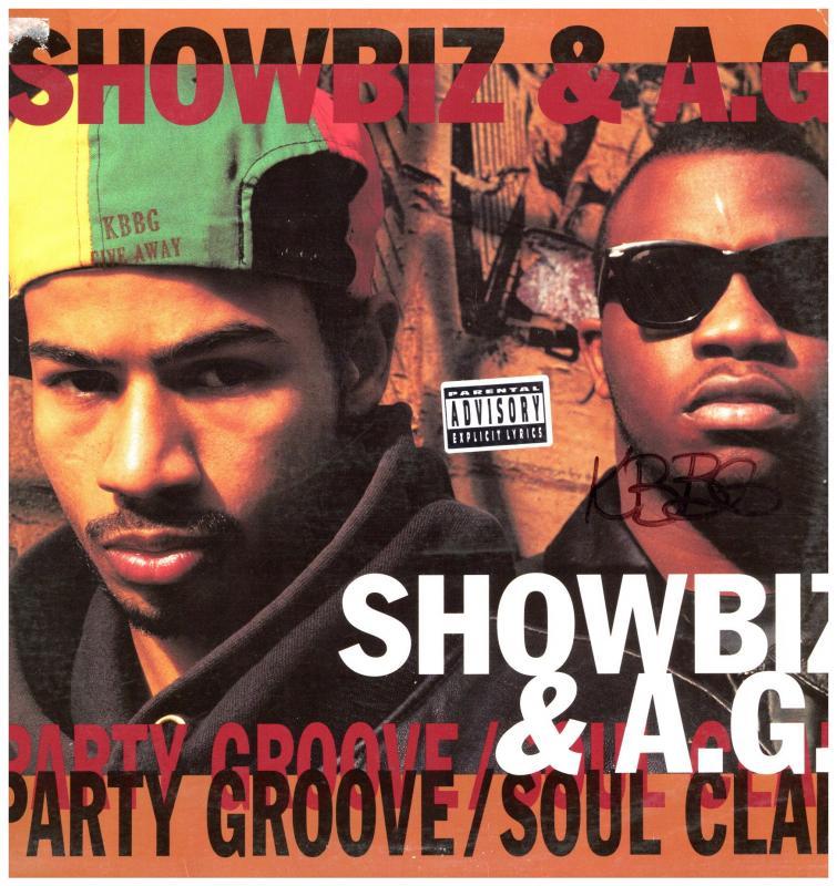 SHOWBIZ & AG/PARTY GROOVE / SOUL CLAPのLPレコード通販・販売ならサウンドファインダー