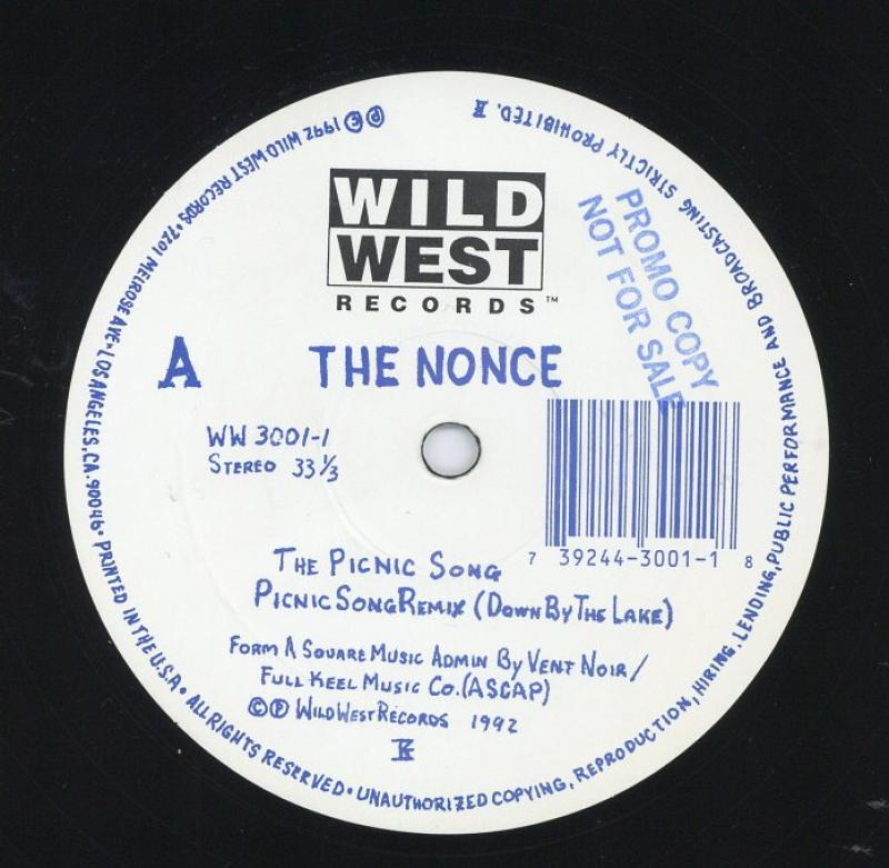 THE NONCE/THE PICNIC SONG / CREW JAM / 1985の12インチレコード通販・販売ならサウンドファインダー