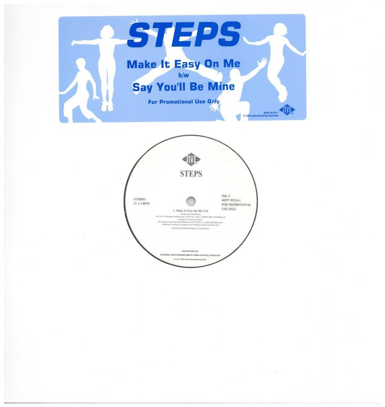 STEPS/MAKE IT EASY ON ME / SAY YOU'LL BE MINEの12インチレコード通販・販売ならサウンドファインダー
